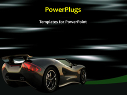 PowerPoint Template - Sports car concept